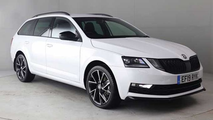 SKODA Octavia Estate 1.5 TSI (150ps) SportLine ACT DSG
