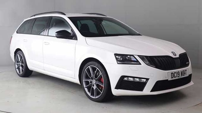 SKODA Octavia vRS Estate (2017) 2.0 TDI vRS (184PS) DSG